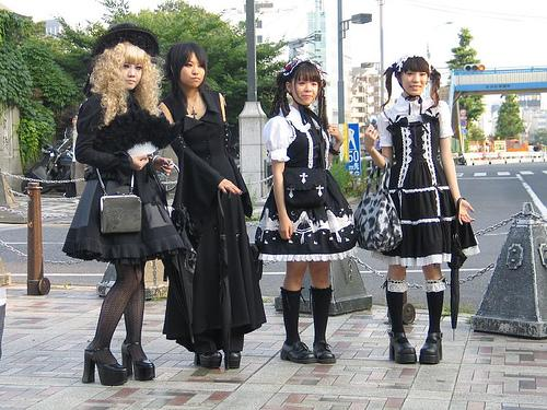 Gothic lolitas  gothique gothic,lolita
