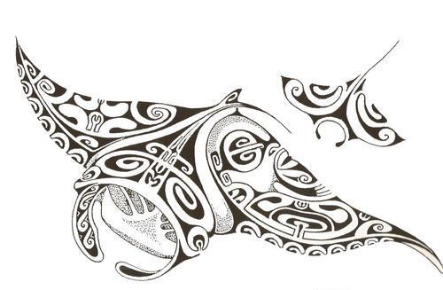 tatouage maori. Exemples de tatouages Tribal: